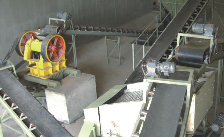 瘠性料预破碎系统-精科陶瓷机械
