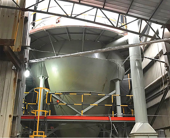 煤渣余热酚水处理法-精科陶瓷机械