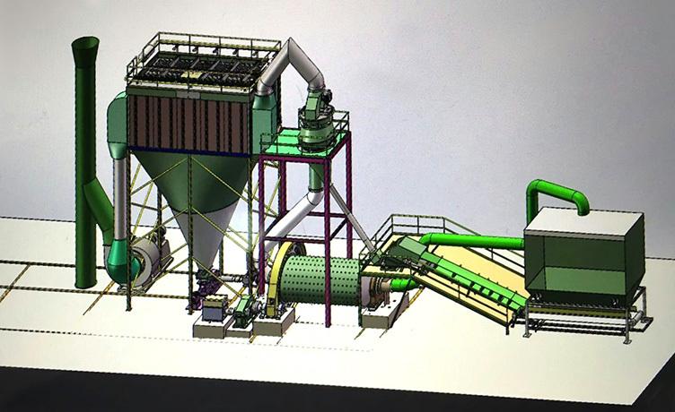 破磨一体化煤粉制备机组-精科陶瓷机械